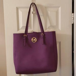 Authentic Plum Michael Kors purse
